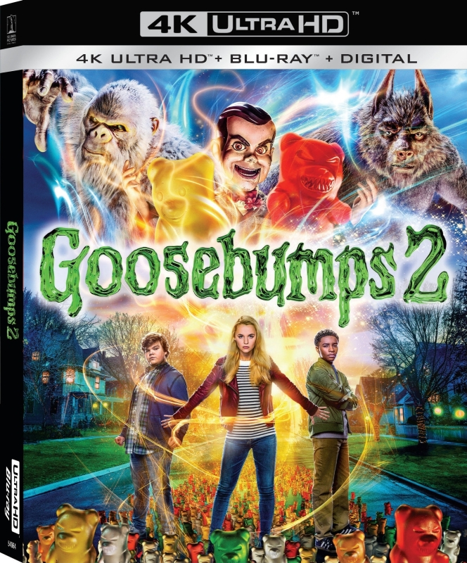 Gêsia Skórka 2 - Goosebumps 2: Haunted Halloween (2018) - Film 4K Ultra-HD