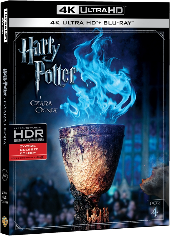 Harry Potter i Czara Ognia - Harry Potter and the Goblet of Fire (2005) - Film 4K Ultra-HD
