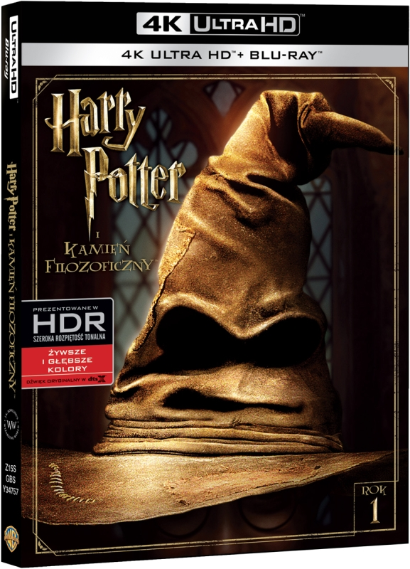 Harry Potter i Kamieñ Filozoficzny - Harry Potter and the Sorcerer's Stone (2001) - Film 4K Ultra-HD